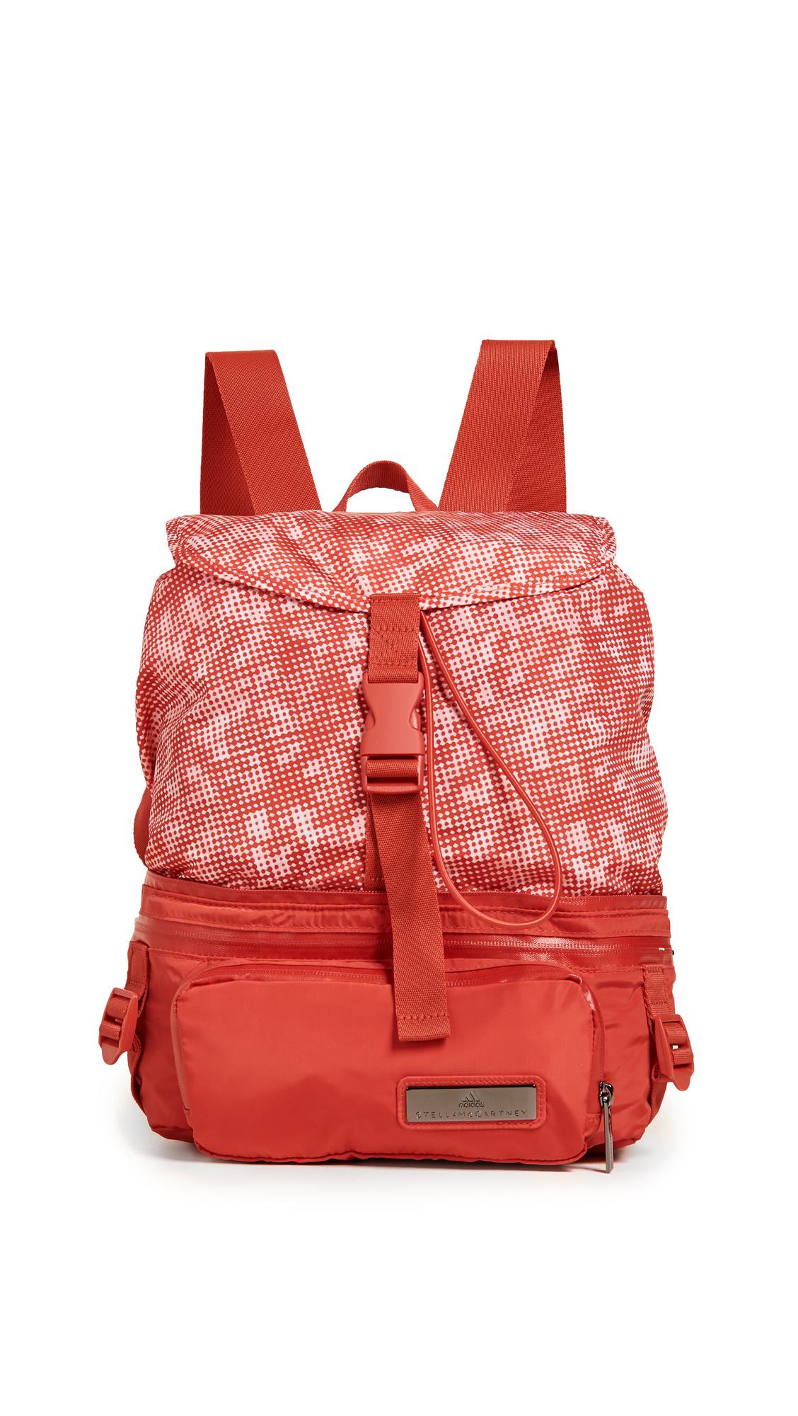 adidas by Stella McCartney Convertible Backpack - Dark Callisto/White