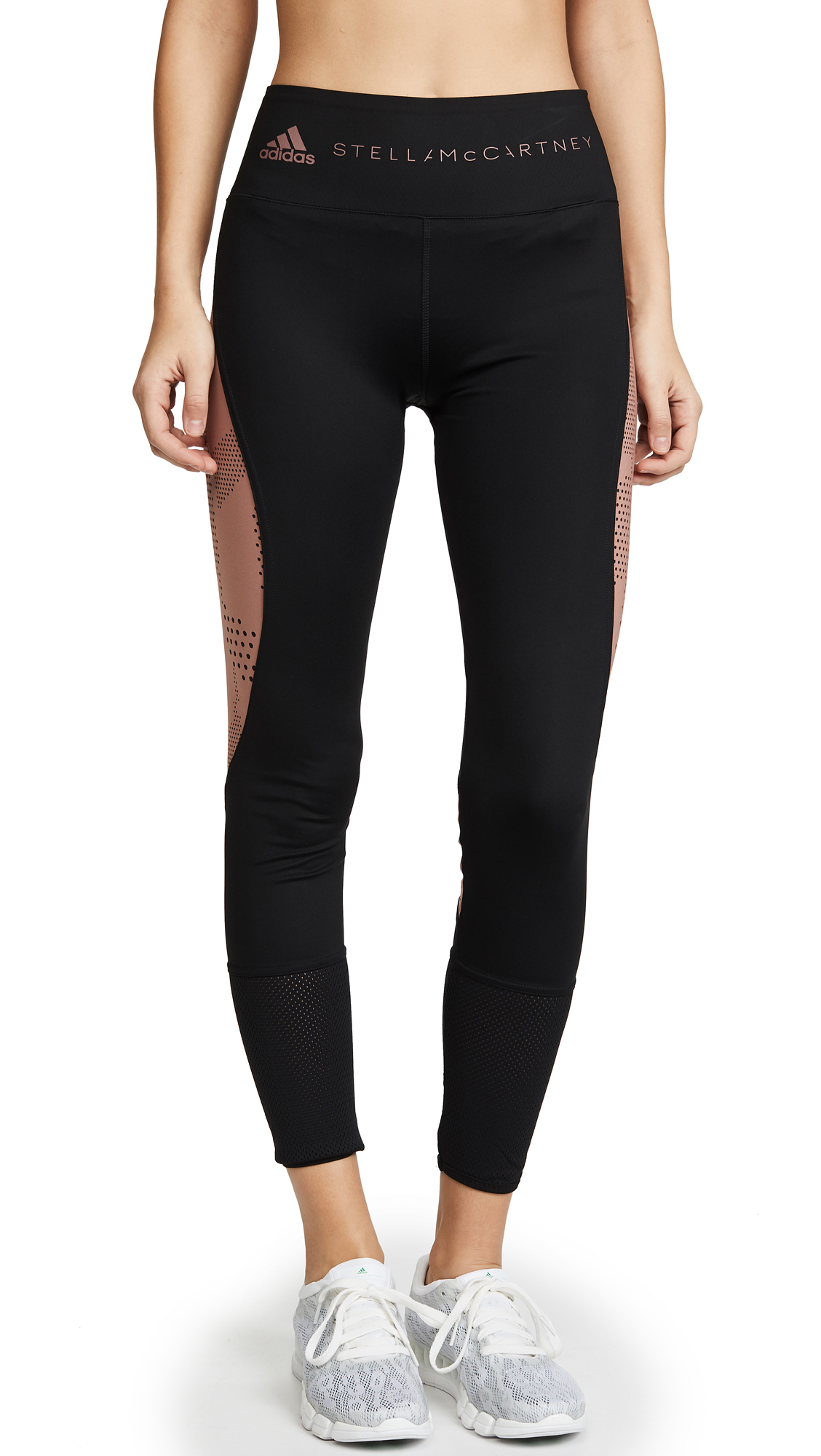 adidas by Stella McCartney Train Ultimate Leggings - Black/Burnt Rose
