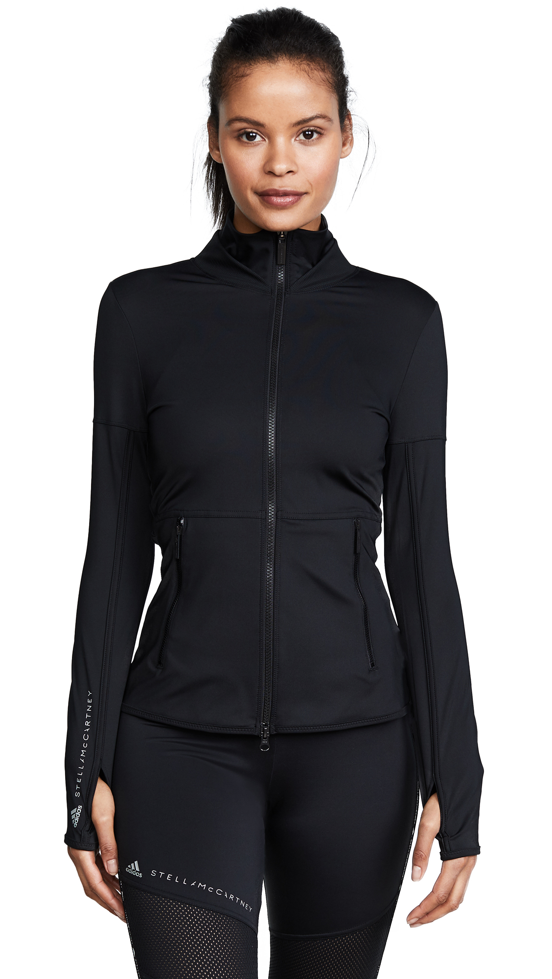 Performance Ess Midlayer Zip Up Jacket, Black