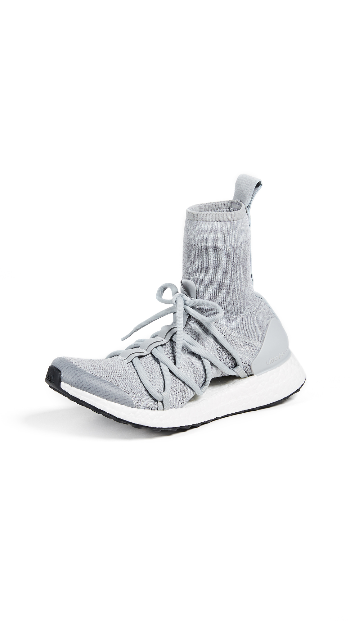 adidas by Stella McCartney UltraBOOST X Mid Sneakers - Stone/Core White/Eggshell Grey