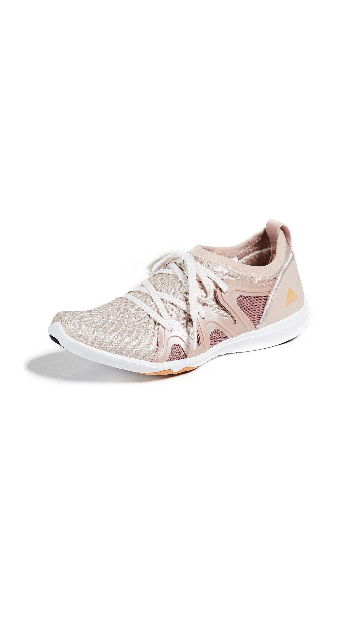 adidas by Stella McCartney CrazyMove Pro Sneakers - Pearl Rose/Burnt Rose/Black