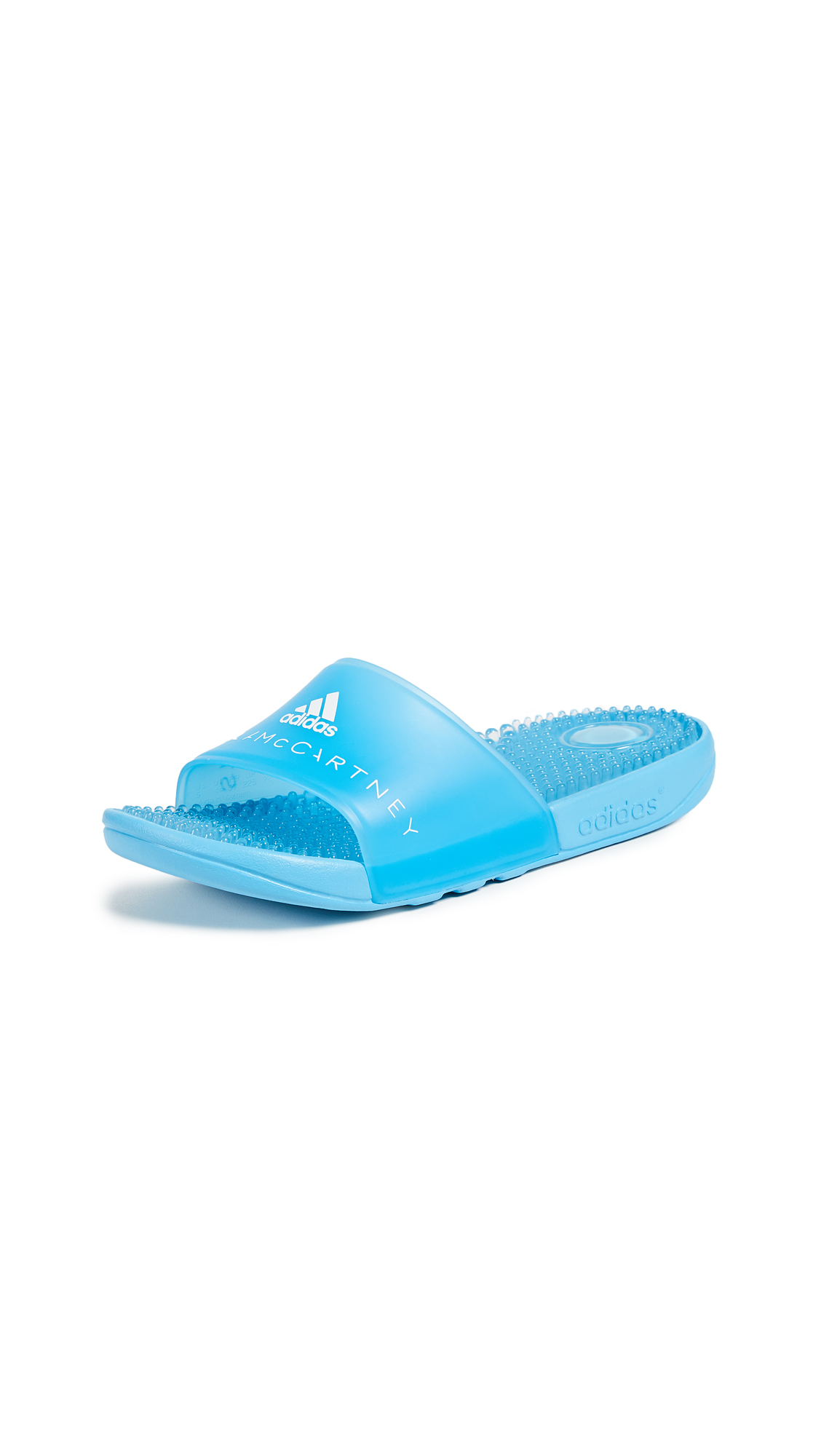 adidas by Stella McCartney Adissage W Slides - Mirror Blue/Mirror Blue/White