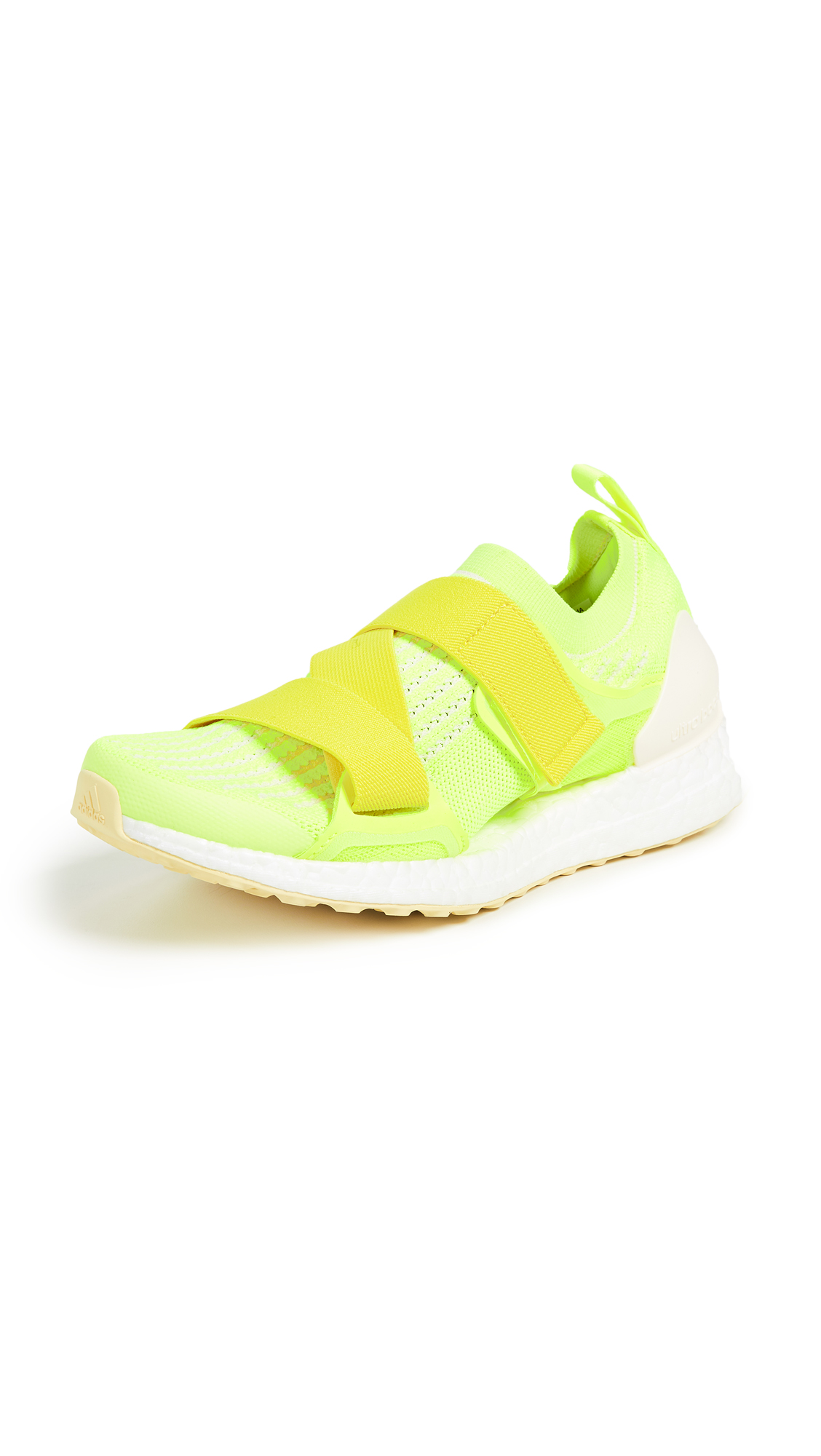 adidas by Stella McCartney UltraBOOST X Sneakers - Solar Yellow/Yellow/Mist Sun