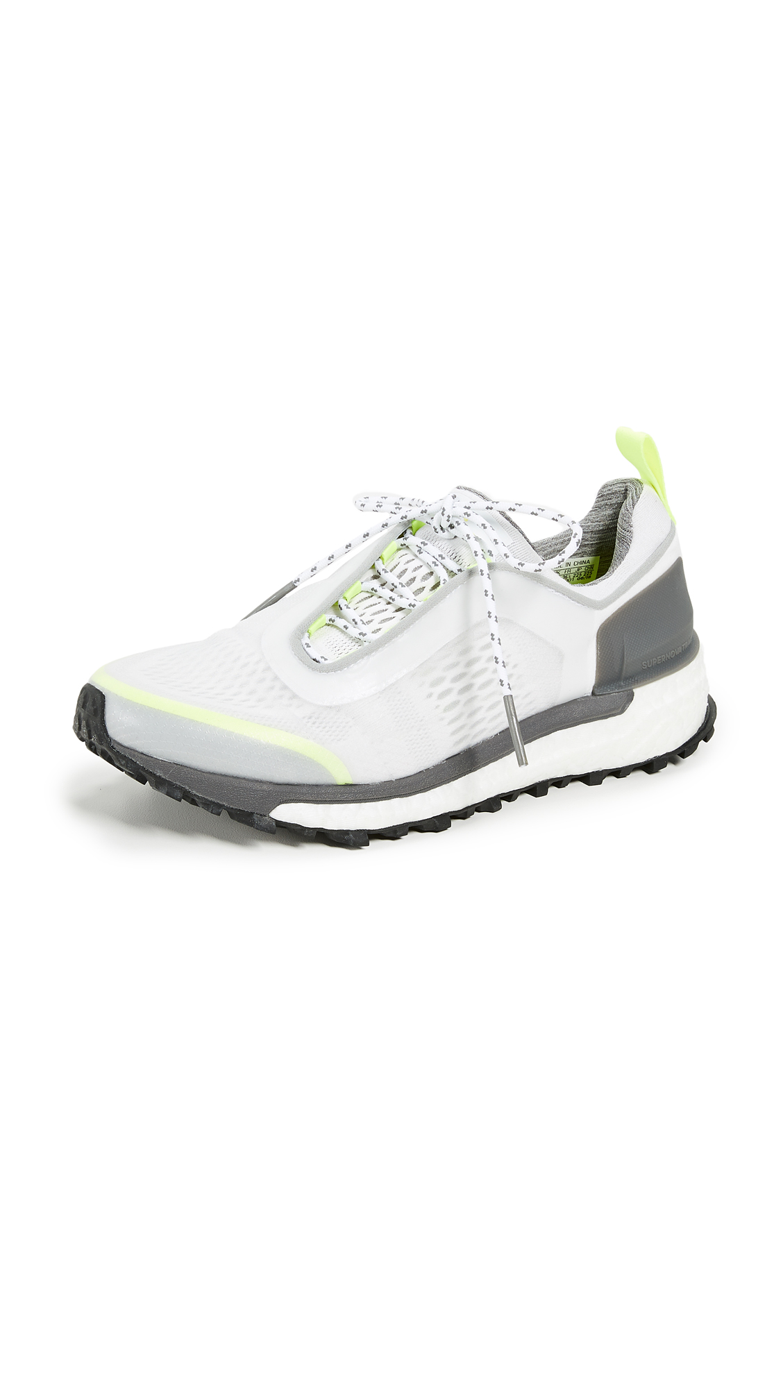 adidas by Stella McCartney Supernova Trail Sneakers - White/Solar Yellow/Core Black
