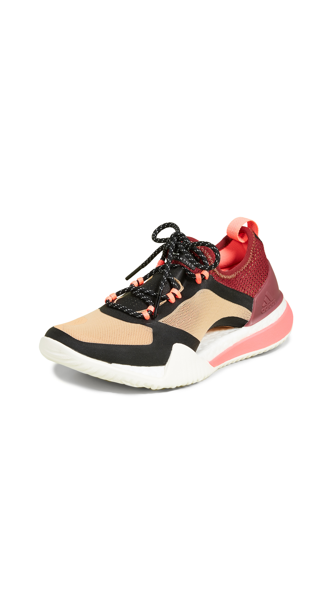 adidas by Stella McCartney PureBOOST X TR 3.0 Sneakers - Cardboard/Maroon/Black