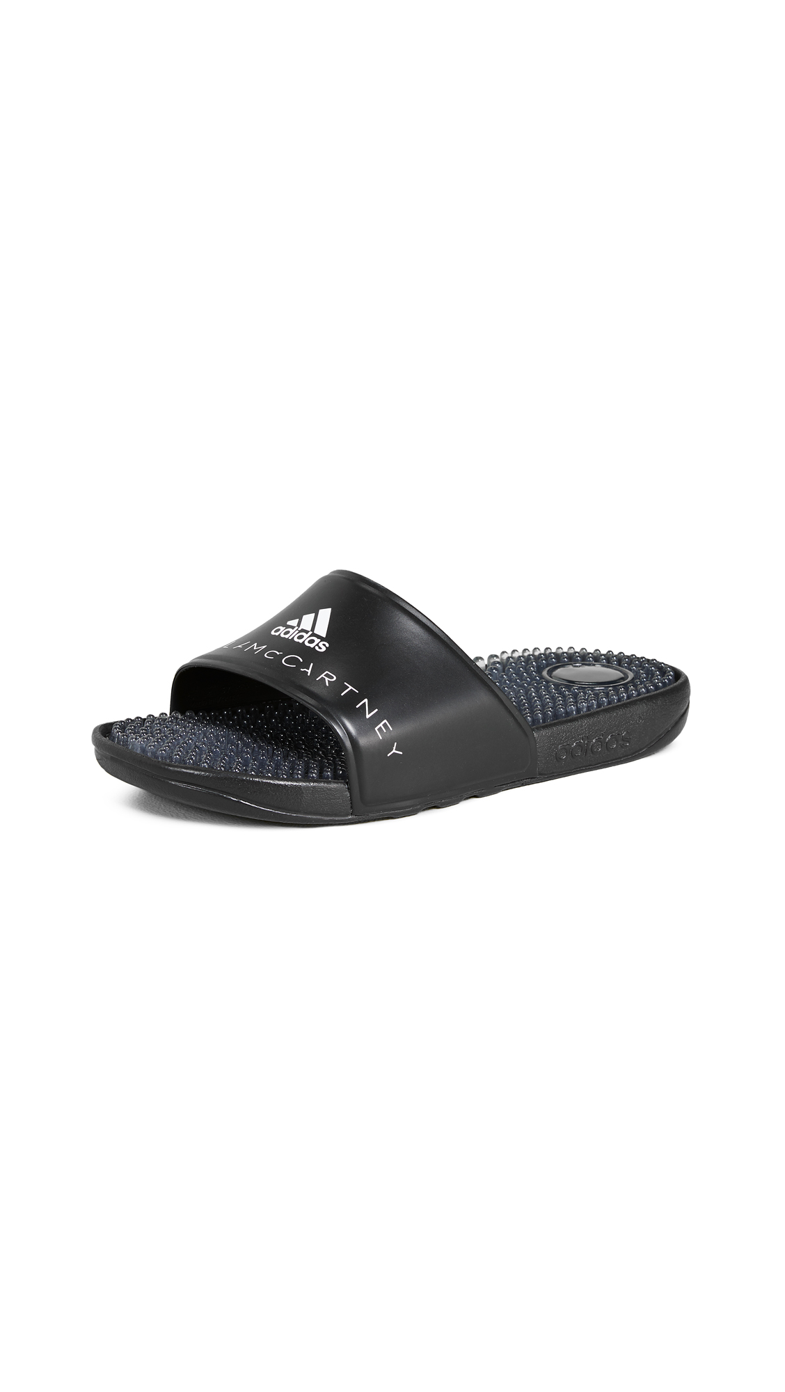adidas by Stella McCartney Adissage W Slides - Black/Black/White