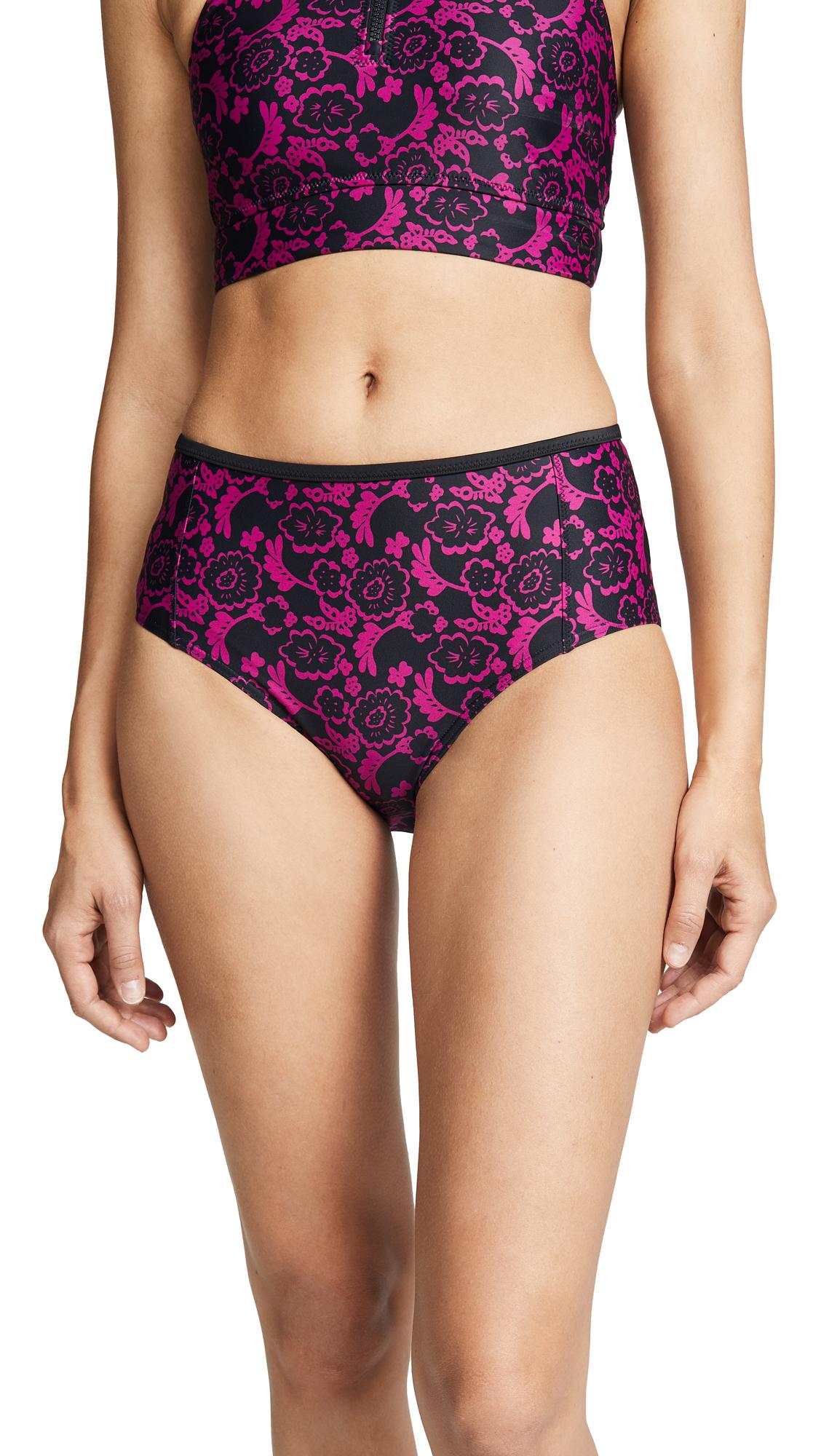 adidas by Stella McCartney Bikini Bottoms In Strong Pink/Black