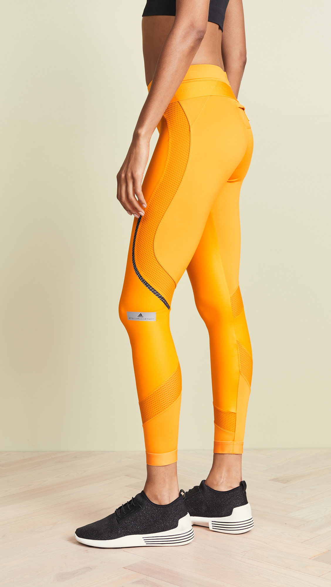 6ed9ea5635b adidas by Stella McCartney Run Long Shiny Leggings | SHOPBOP