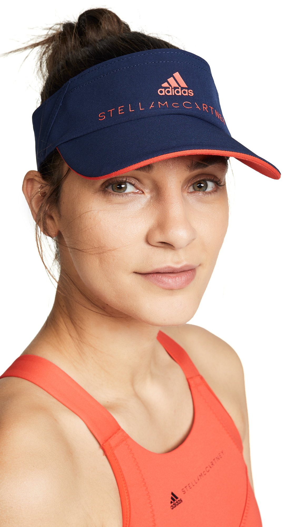 adidas by Stella McCartney Tennis Visor - Night Indigo/Core Red