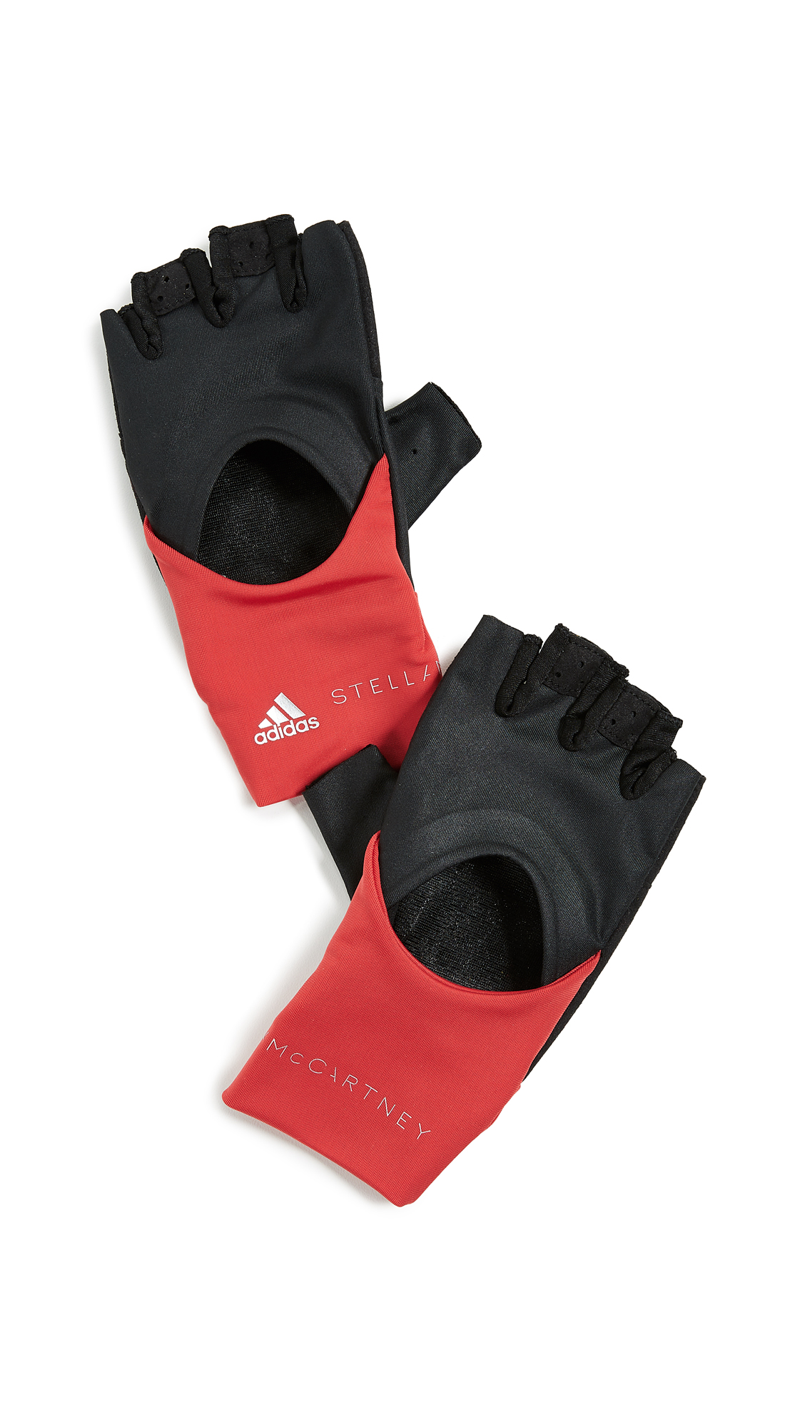 Training Gloves, Black/Core Red/Silver