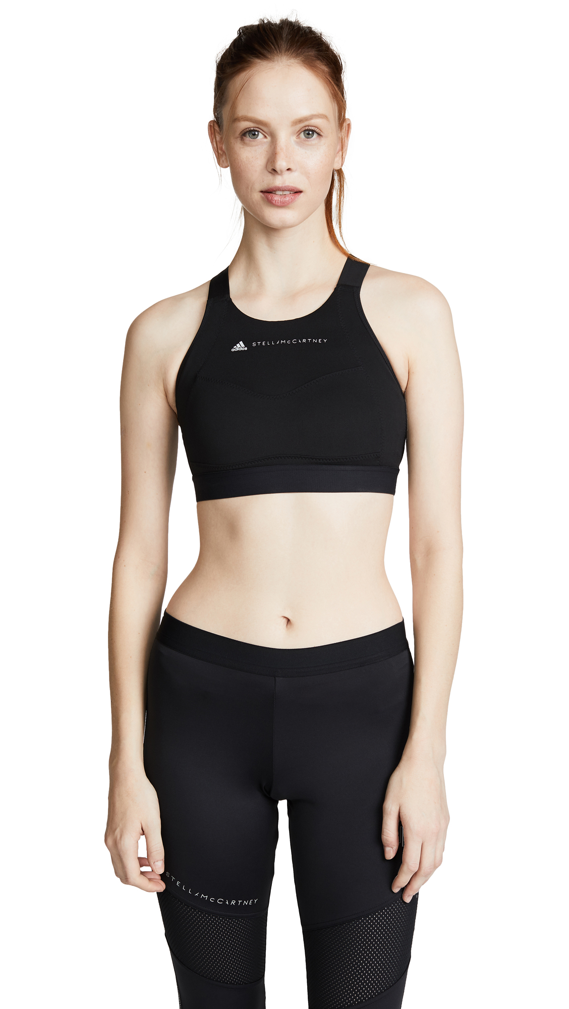 adidas by Stella McCartney Performance Essentials Bra - Black