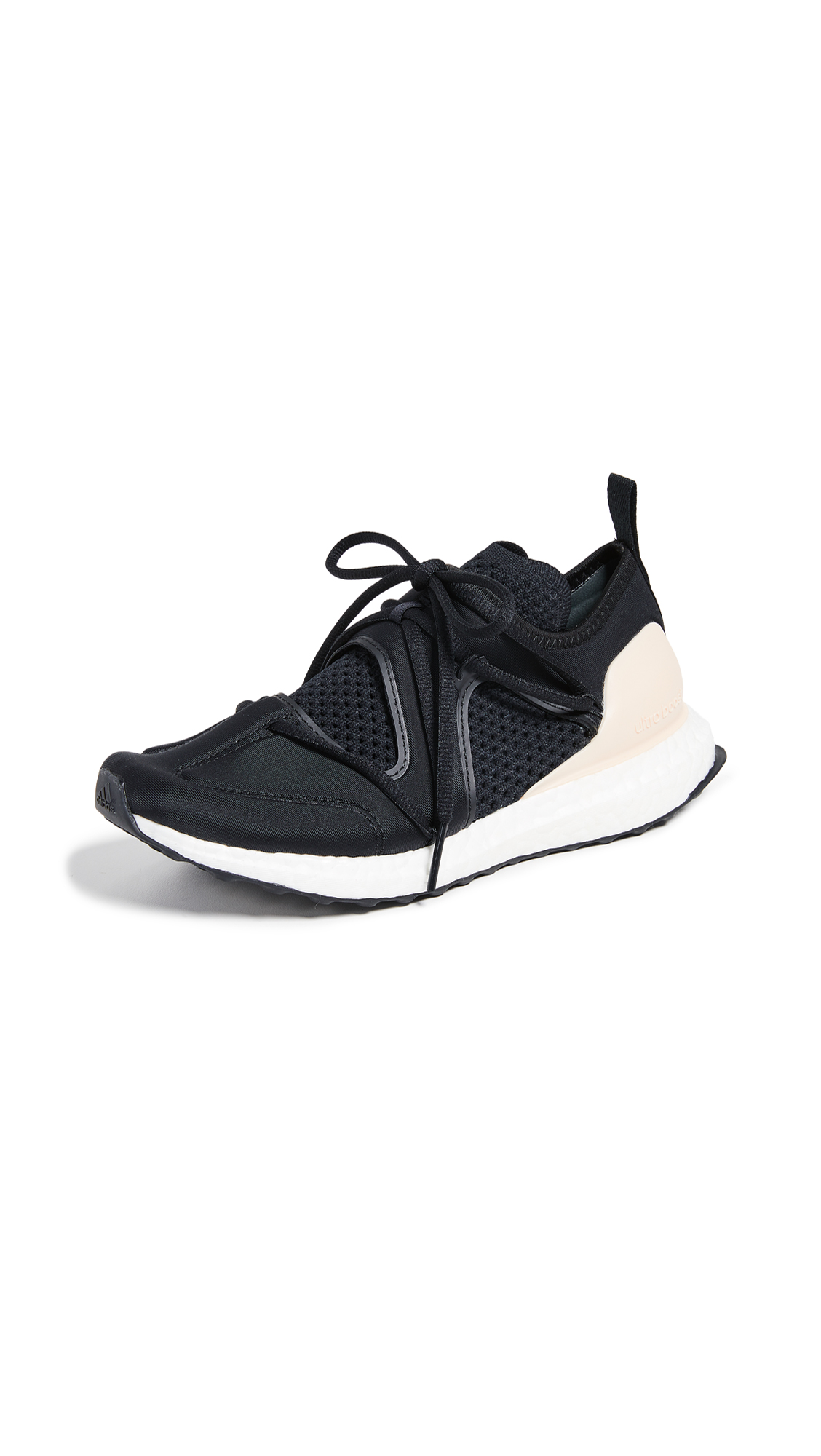 adidas by Stella McCartney UltraBOOST T Sneakers - Core Black/Soft Apricot