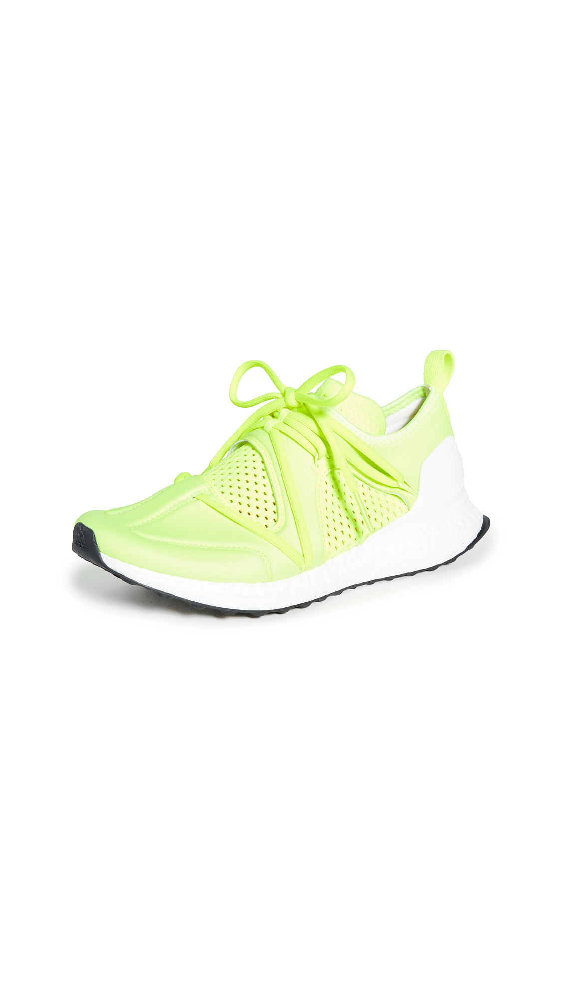 adidas by Stella McCartney UltraBOOST T.S. Neon Sneakers - Solar Yellow/Cream White/White
