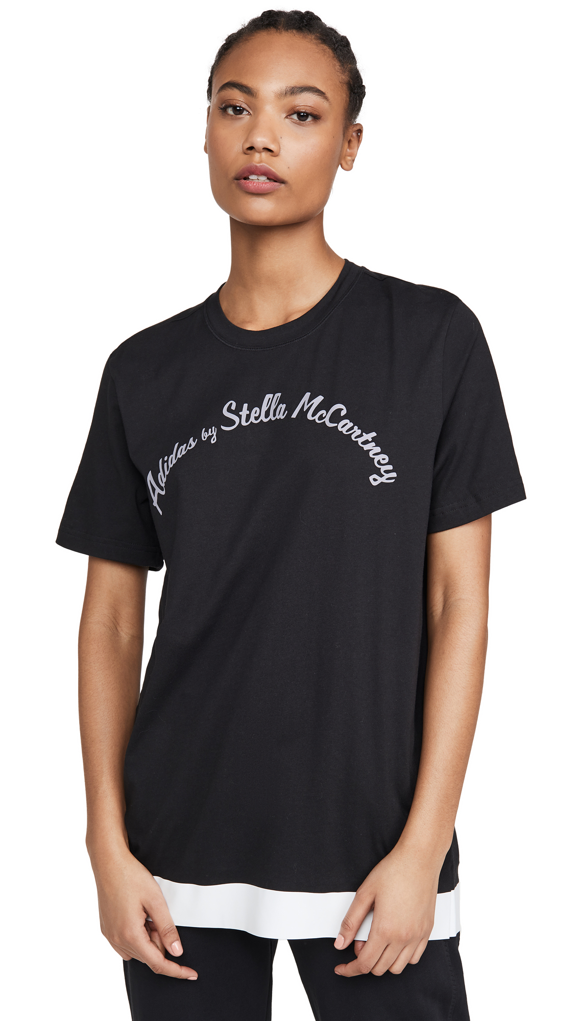 Buy adidas by Stella McCartney online - photo of adidas by Stella McCartney Logo Tee