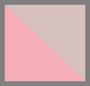 粉色/棕色/白色