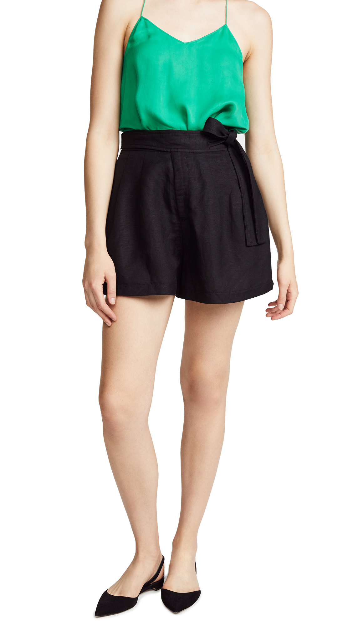 ASTR the Label Jayden Shorts In Black