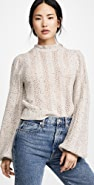 ASTR the Label Brynn Mock Neck Sweater