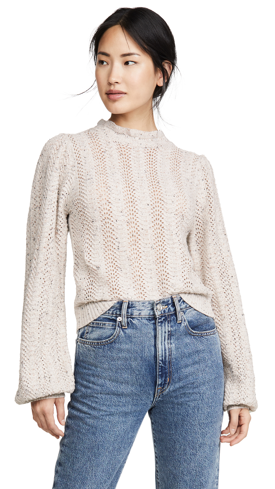 Buy ASTR the Label online - photo of ASTR the Label Brynn Mock Neck Sweater