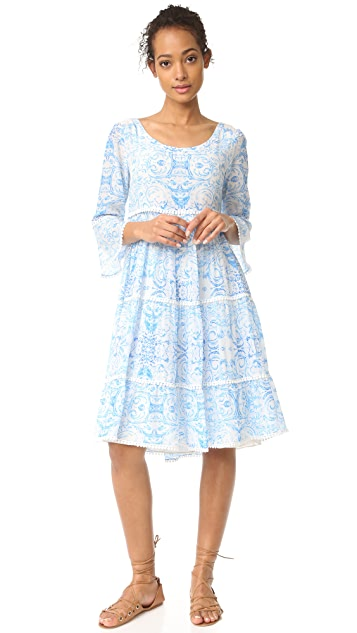 Athena Procopiou The Misummer's Sky Frill Dress