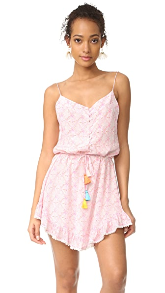 Athena Procopiou Mandrem Short Strap Dress