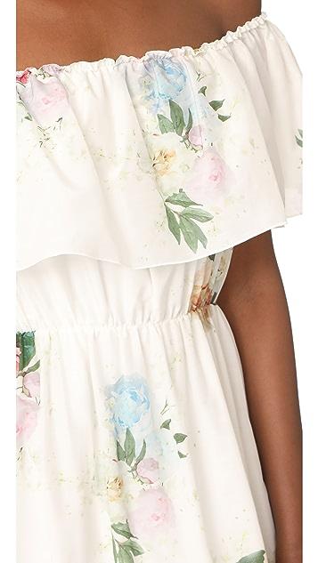 Athena Procopiou Summer Bloom Gypsy Dress