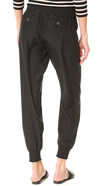 ATM Anthony Thomas Melillo Silk Pull On Pants