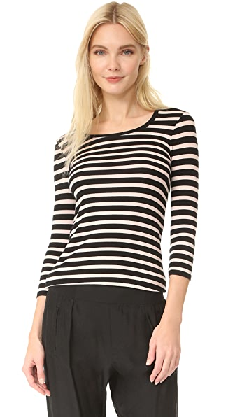 ATM Anthony Thomas Melillo Stripe Top
