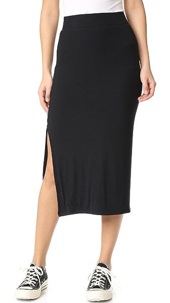 ATM Anthony Thomas Melillo Rib Skirt