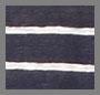 Midnight/White Stripe