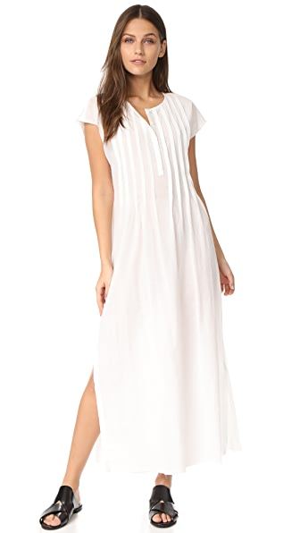 ATM Anthony Thomas Melillo Gauze Maxi Dress - White