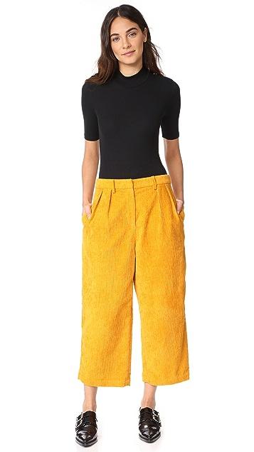 ATM Anthony Thomas Melillo Rib Short Sleeve Bodysuit