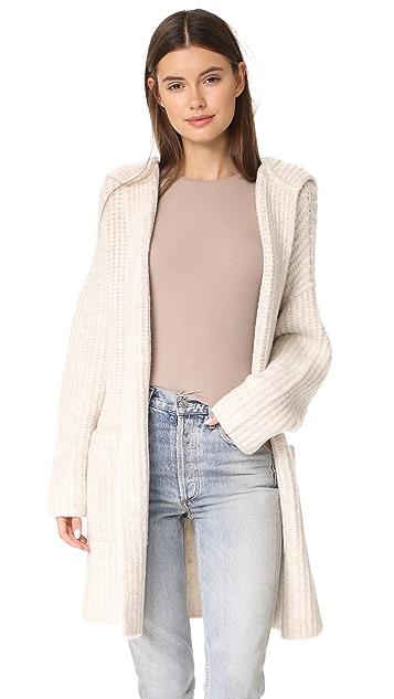 ATM Anthony Thomas Melillo Hooded Sweater Coat | SHOPBOP