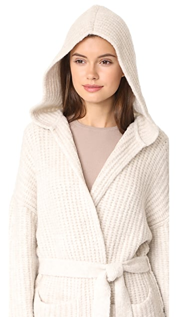 ATM Anthony Thomas Melillo Hooded Sweater Coat | SHOPBOP