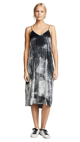 ATM Anthony Thomas Melillo Drapey Velvet Cami Dress at Shopbop