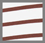 Chalk/Wine Stripe