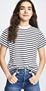 ATM Anthony Thomas Melillo Short Sleeve Stripe Boy Tee