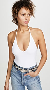 eca6972f3d235 ATM Anthony Thomas Melillo. Halter Bodysuit