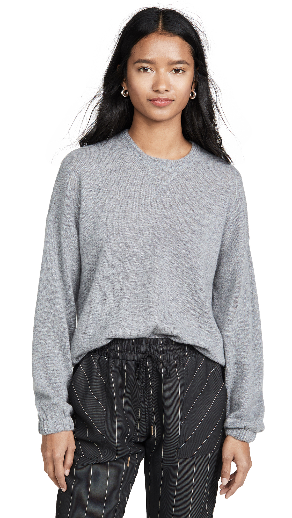 Buy ATM Anthony Thomas Melillo online - photo of ATM Anthony Thomas Melillo Cashmere Crew Neck Sweater