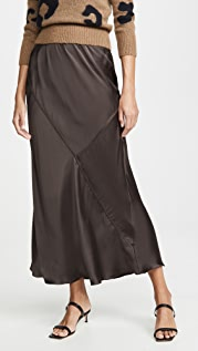 ATM Anthony Thomas Melillo Silk Maxi Skirt