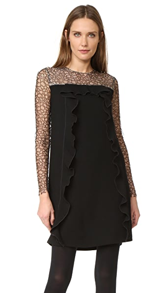 Amelia Toro Lace Sleeve Tunic Dress