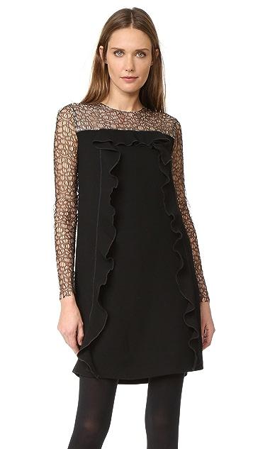 Amelia Toro Lace Sleeve Tunic Dress