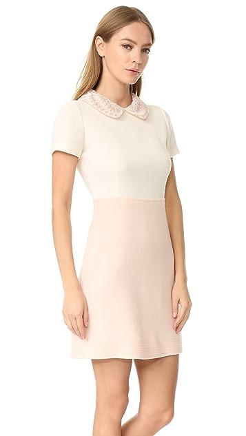 Amelia Toro Wool Crepe Dress