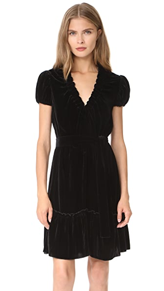 Amelia Toro Velvet Mini Dress at Shopbop