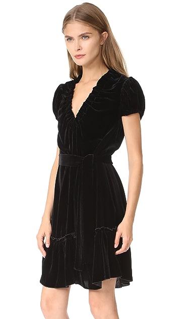 Amelia Toro Velvet Mini Dress