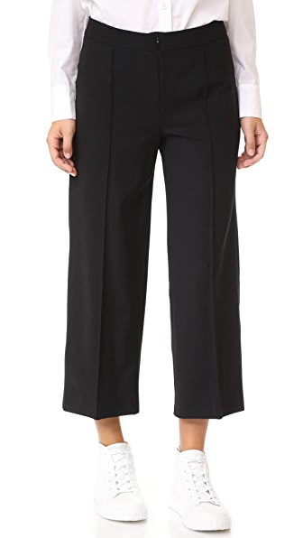 Amelia Toro Garbadine Pants - Black