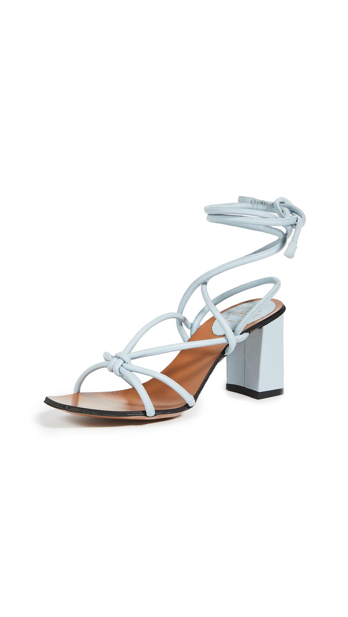 Buy ATP Atelier Andria Lace Up Wrap Sandals online, shop ATP Atelier