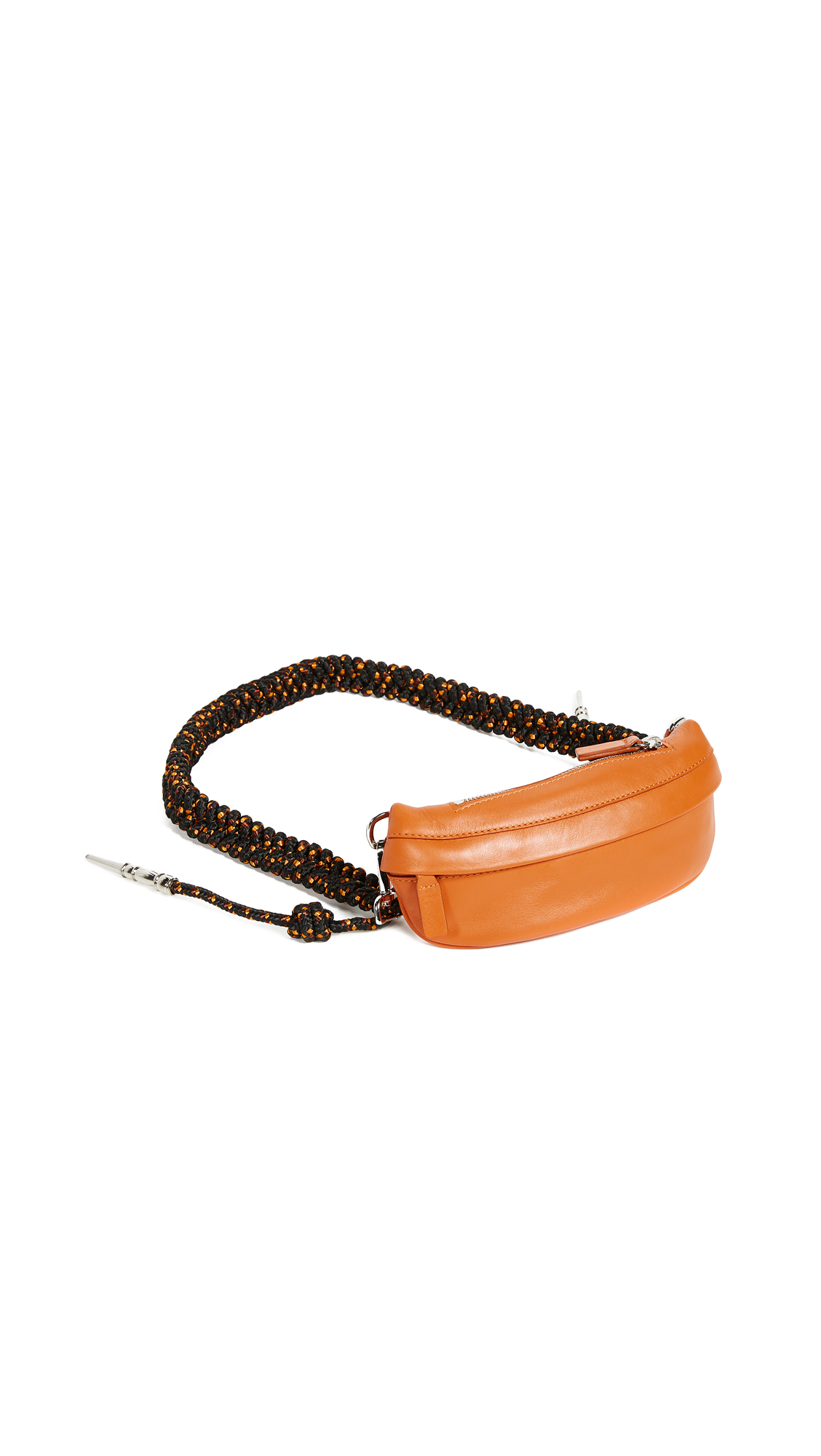 Avec La Troupe Aiguilette Belt Bag In Orange/Multi