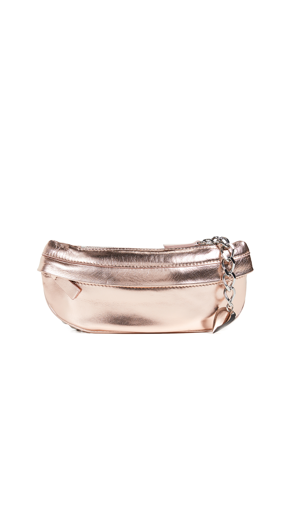 AVEC LA TROUPE Troupe Belt Bag in Rose Gold