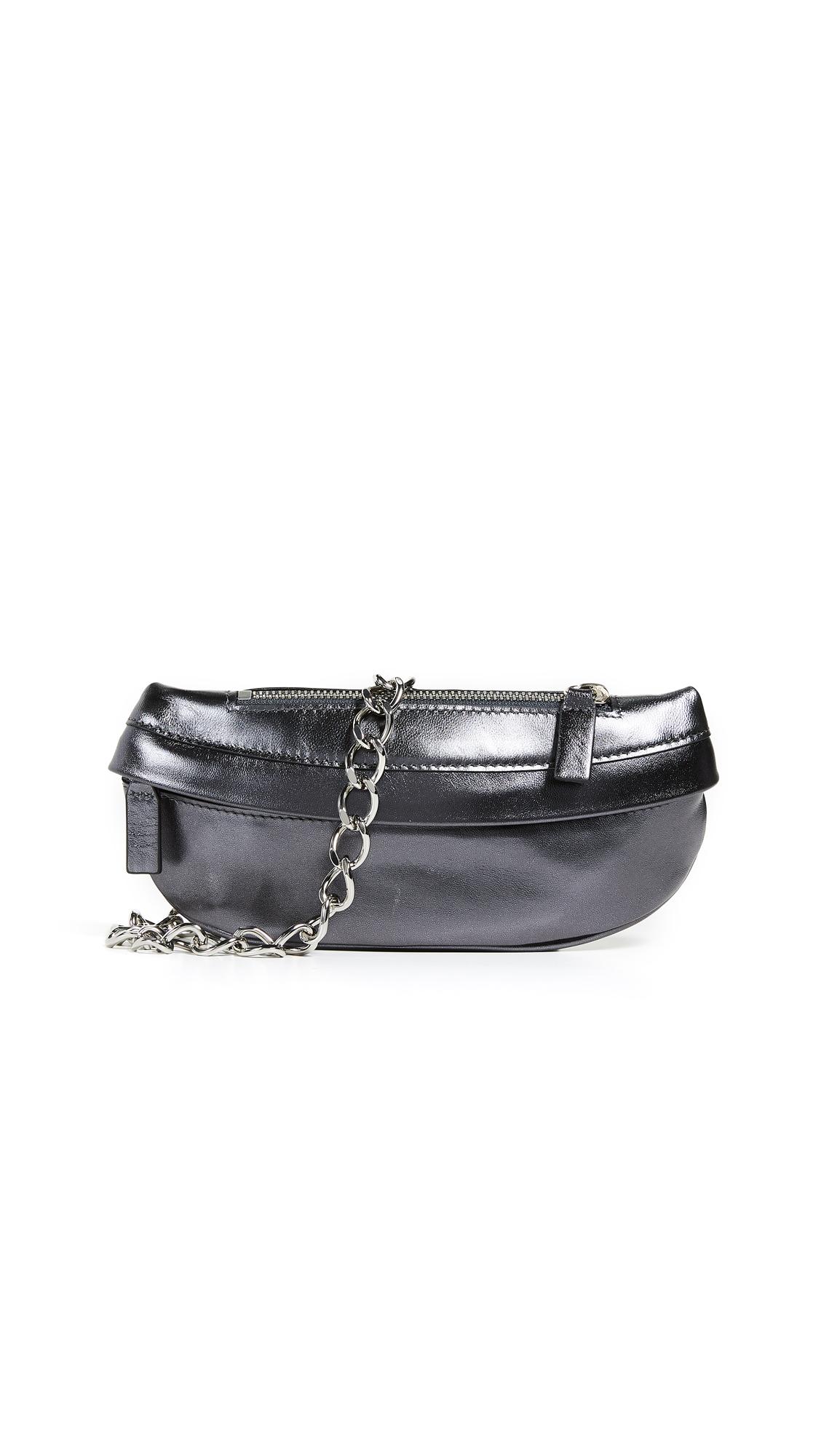 AVEC LA TROUPE Troupe Belt Bag in Black