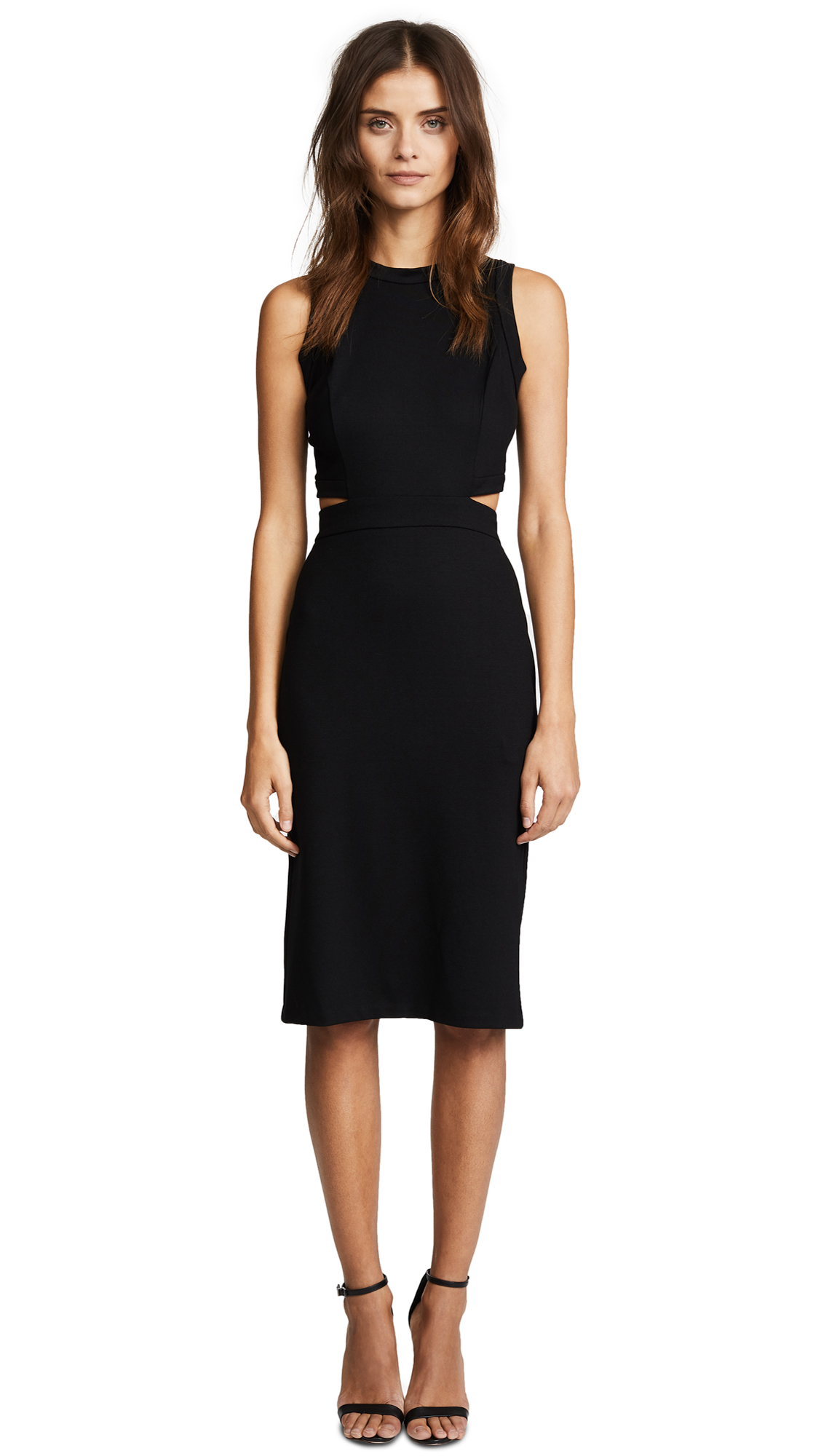 Amanda Uprichard Shaina Dress - Black